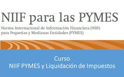 NIFF PYMES y Liquidación de Impuestos